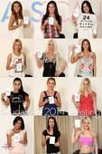 Adelle Booty, Alexis Brill, Amirah, Anastasia L - Budapest 2014 Casting