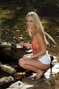 Sara Jaymes In Backyard Angler - Picture 6