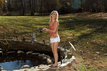 Sara Jaymes In Backyard Angler - Picture 4