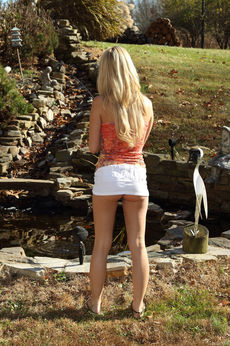 Sara Jaymes In Backyard Angler - Picture 3