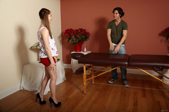 Alice March And Seth Gamble In Snack And Service - Picture 1