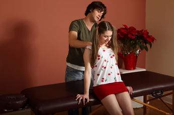 Alice March And Seth Gamble In Snack And Service - Picture 2