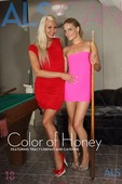 Cayenne & Tracy Lindsay Nude in Color of Honey