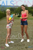 Cindy Shine & Kiara Cole Nude in Water Duel